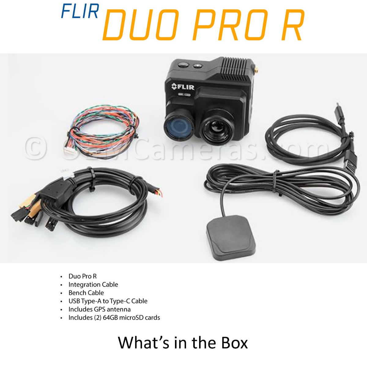 FLIR DUO PRO R  - What's in the Box