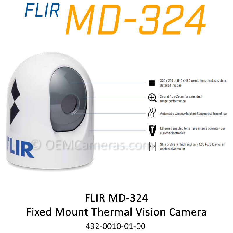 Flir MD-324 Fixed Mount Thermal Vision Camera