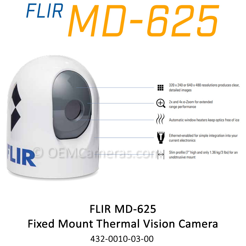 Flir MD-625 Fixed Mount Thermal Vision Camera